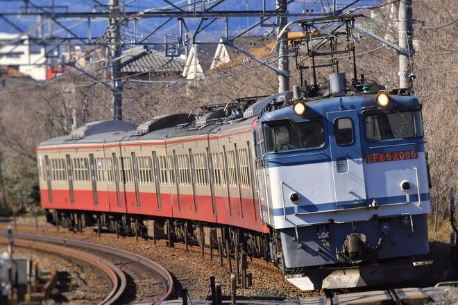 【西武】新101系247F(赤電)甲種輸送