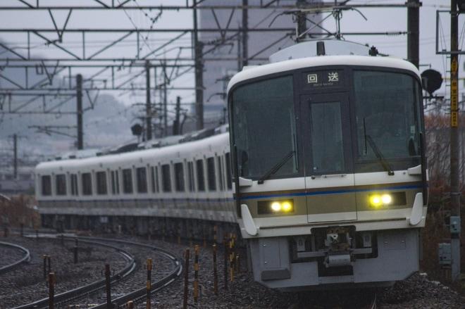【JR西】221系ホシA16編成体質改善し下関総合車両所出場
