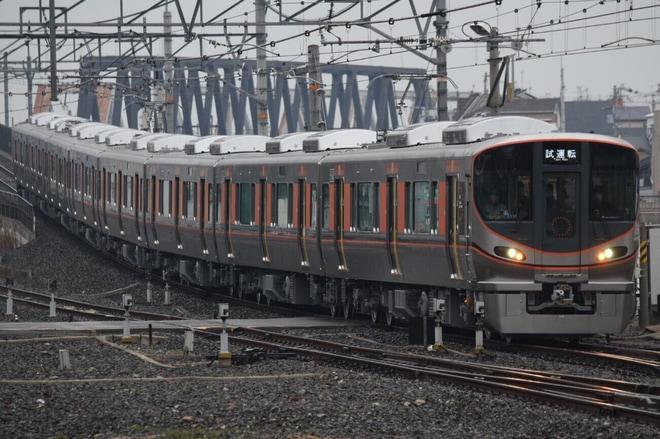 【JR西】323系LS17編成 近畿車輛出場試運転