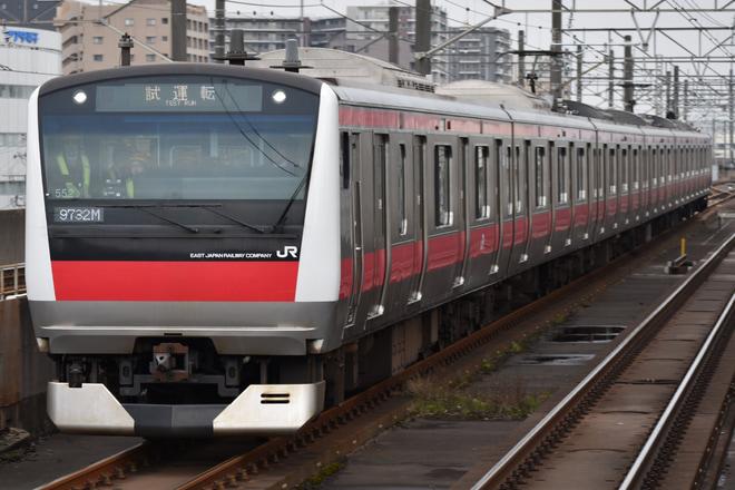 【JR東】E233系ケヨ552編成使用乗務員訓練