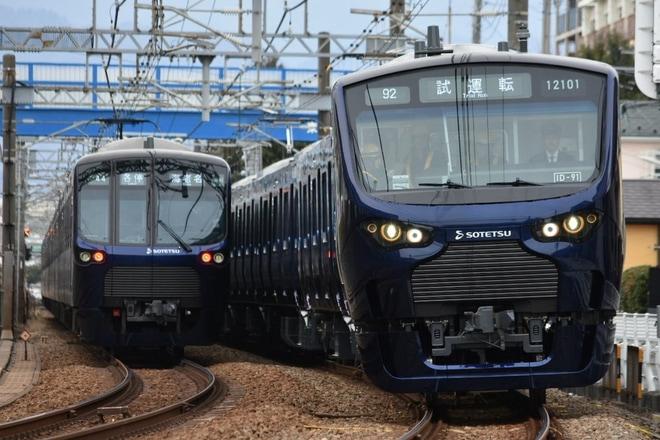 5位【相鉄】12000系12101F性能確認試運転(アクセス数:4871)