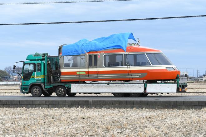 34位【小田急】7000形7003F(LSE) 7803号車解体搬出(アクセス数:4949)