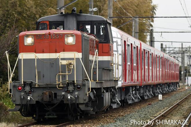 【メトロ】2000系2103F甲種輸送