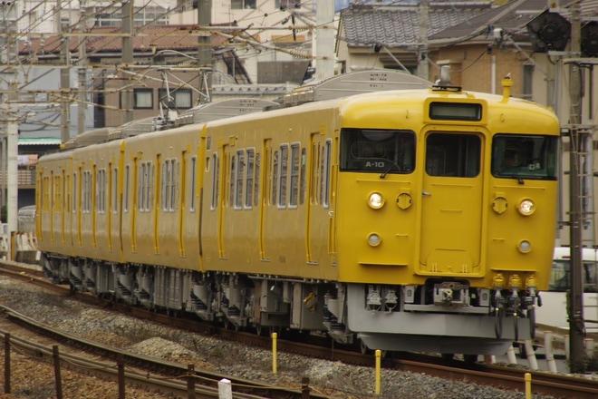 6位【JR西】115系A-10編成下関総合車両所出場回送(アクセス数:4728)