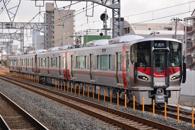 【JR西】227系S41+S42編成近畿車輛出場試運転