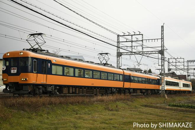 【近鉄】12200系N53+22600系AT54のブライダルトレイン