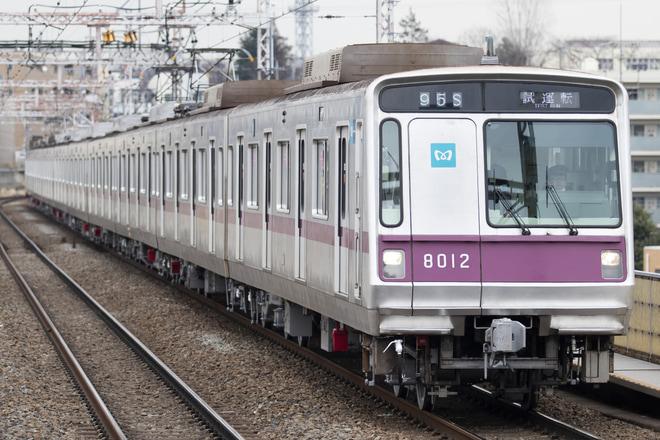 【メトロ】8000系8112F 鷺沼工場出場試運転