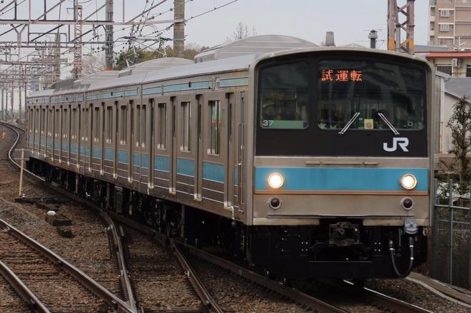 6位【JR西】205系NE403編成吹田総合車両所出場試運転(アクセス数:2732)