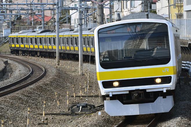 【JR東】209系C510編成方向転換回送