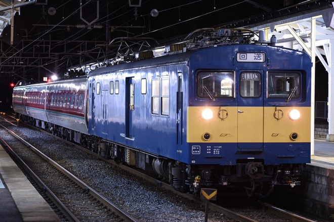 【JR西】モハ380-74+モハ381-74+クハ381-112後藤総合車両所出場