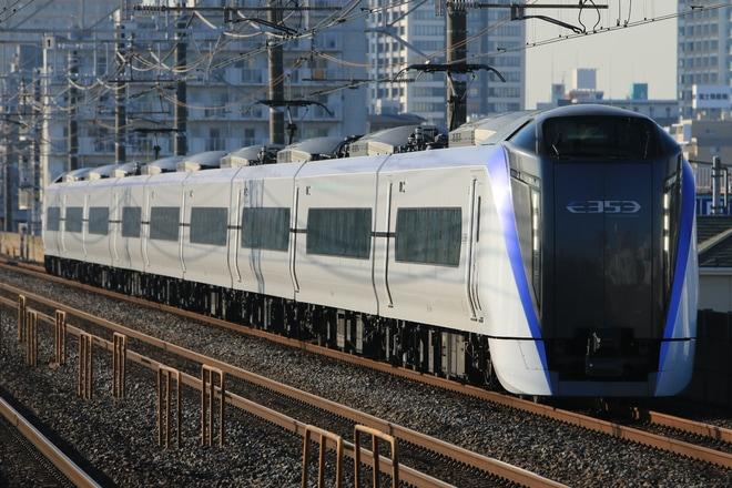 【JR東】E353系S109編成 幕張車両センター回送