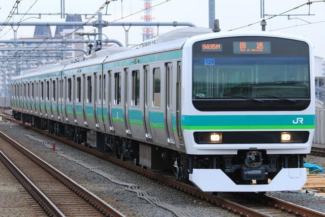 【JR東】E231系マト124編成 長野総合車両センター出場