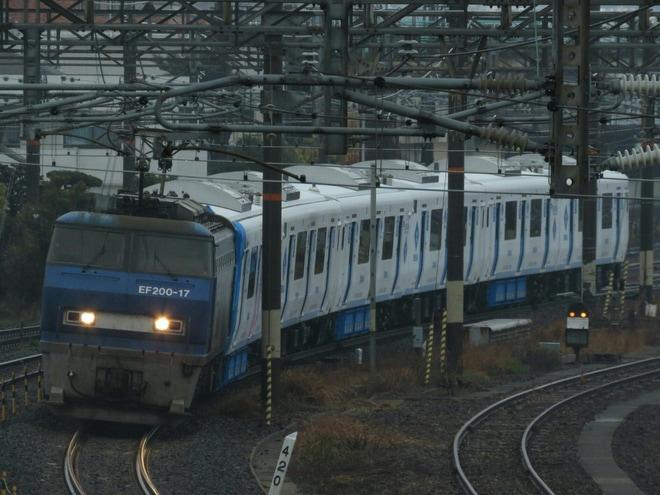 【JR九】EF200-17牽引の819系Z309/Z310/Z311編成甲種輸送