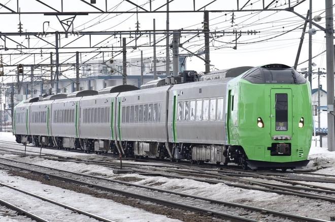 【JR北】789系HE-102/HE-202編成本線試運転
