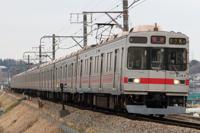 【東急】8590系8694F 廃車回送