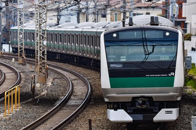 【JR東】E233系ハエ101編成東京総合車両センター出場回送
