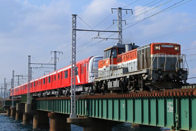 【メトロ】2000系2104F甲種輸送