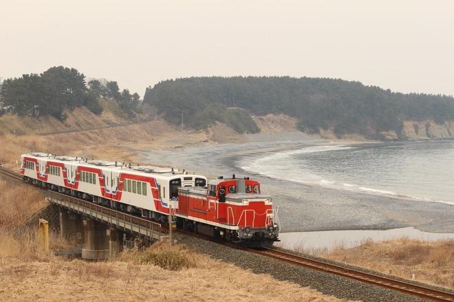 【三鉄】36-715〜718甲種輸送