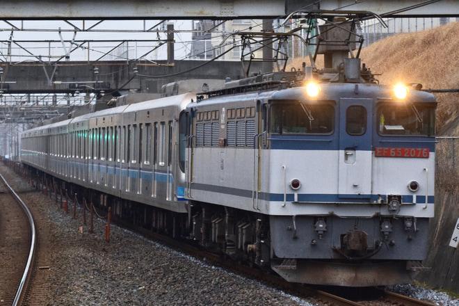 【メトロ】07系07-105F甲種輸送