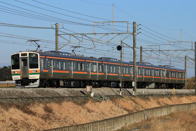 【JR東】211系タカA33編成 大宮総合車両センター出場