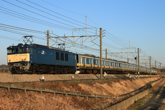 【JR東】E231系B7編成青森改造センターへ配給