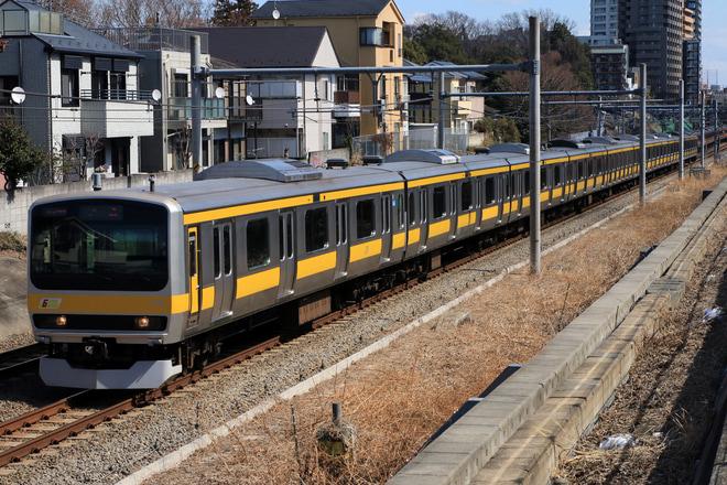 【JR東】E231系ミツB7編成 配給に向けた送り込み回送