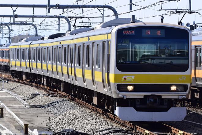 【JR東】E231系ミツB31編成三鷹返却回送