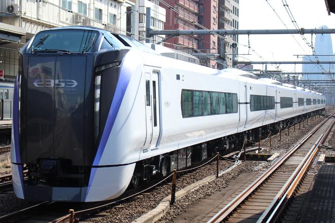 【JR東】E353系S118編成 尾久車両センターへ回送
