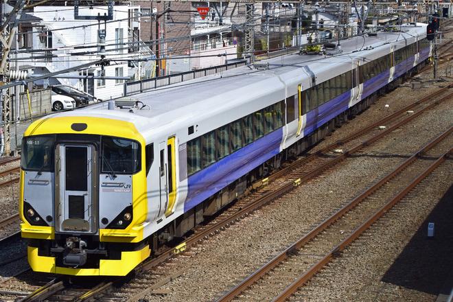 【JR東】E257系マリNB-11編成塗装が代わり豊田車セ送り込み回送