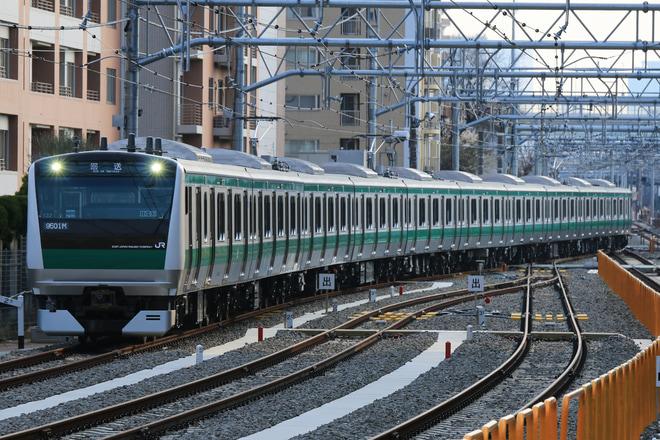 【JR東】E233系ハエ132編成 板橋留置線送り込み回送