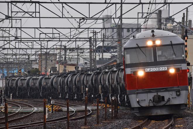【JR貨】関西線セメント貨物列車がDF200牽引に