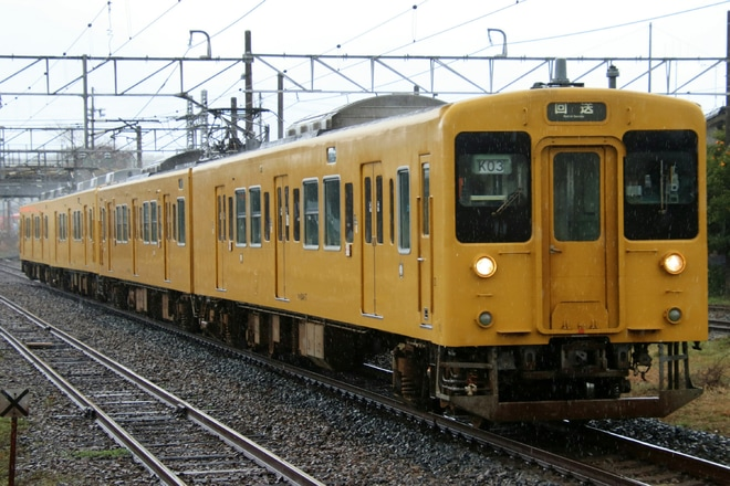 【JR西】105系K-02/K-03編成が幡生へ