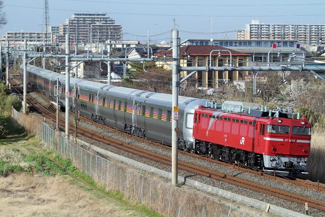 【JR東】E26系カシオペア試運転