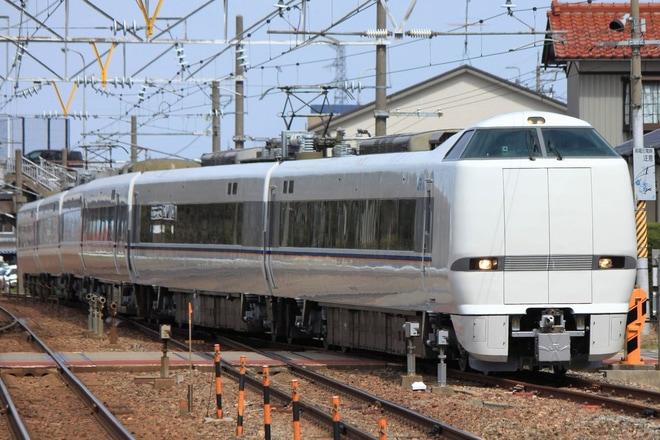 【JR西】681系W02 編成出場試運転
