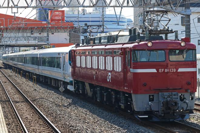 【JR東】E257系オオNA-09編成(元モトM-112編成) 大宮総合車両センター出場配給