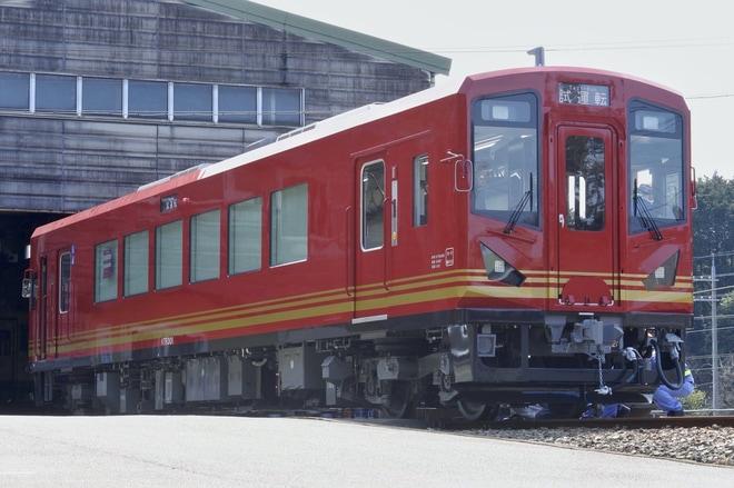 【京都丹後】新型車両KTR300型KTR301試運転