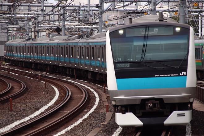 【JR東】E233系サイ149編成 東京総合車両センター入場