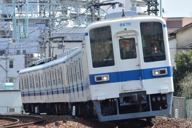 【東武】8000系8570F故障による救援回送