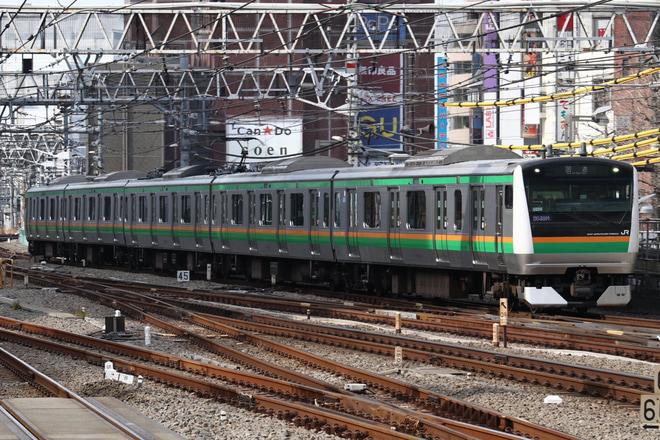 【JR東】E233系ヤマU224編成 東京総合車両センター入場
