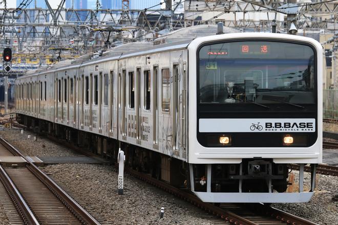 31位【JR東】209系J1編成「B.B.BASE」新前橋へ回送(アクセス数:5225)