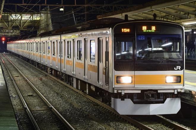 18位【JR東】209系トタ82編成H運用代走(アクセス数:5756)