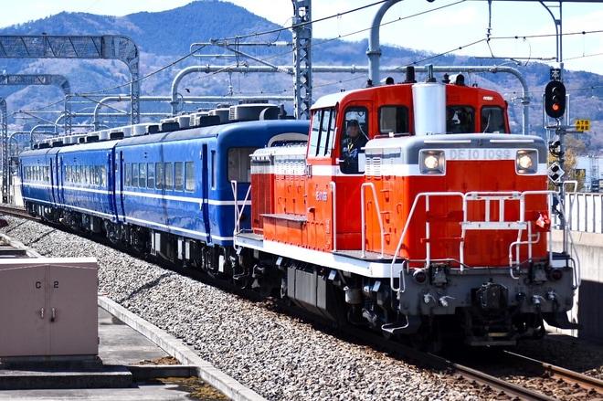【東武】DE10 1099+14系3両下今市送り込み回送