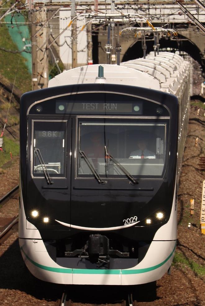 【東急】2020系2129F試運転