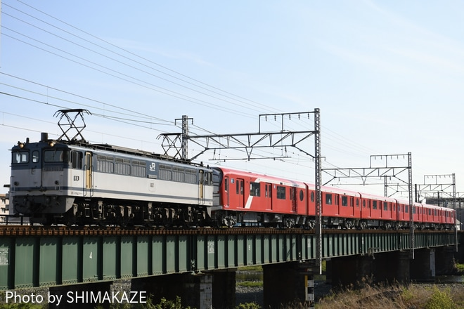 【メトロ】2000系2106F甲種輸送