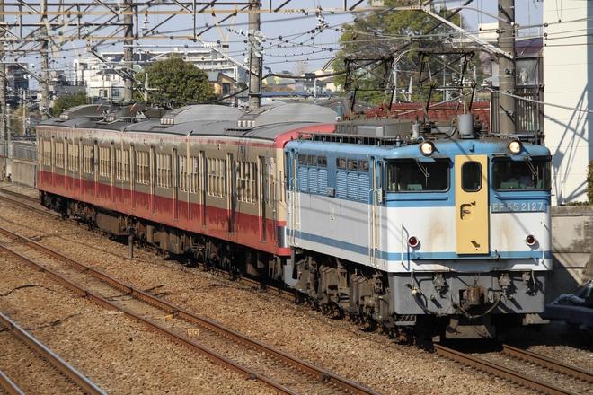 【西武】新101系247F(赤電塗装) 甲種輸送
