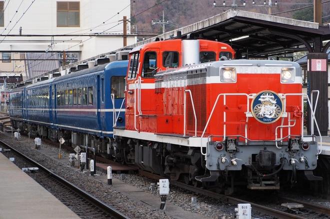 【東武】SL大樹へドリームカー(オハ14-505)連結開始