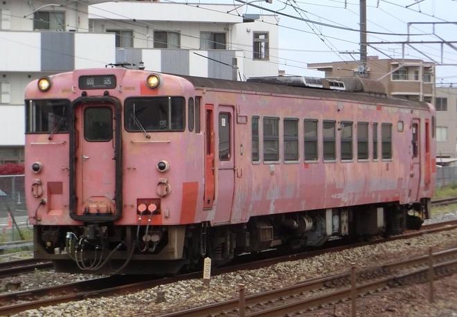 【JR西】キハ40-3004(元桃太郎)後藤総合車両所入場