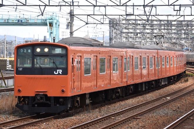 9位【JR西】201系LB14編成廃車回送(アクセス数:4744)