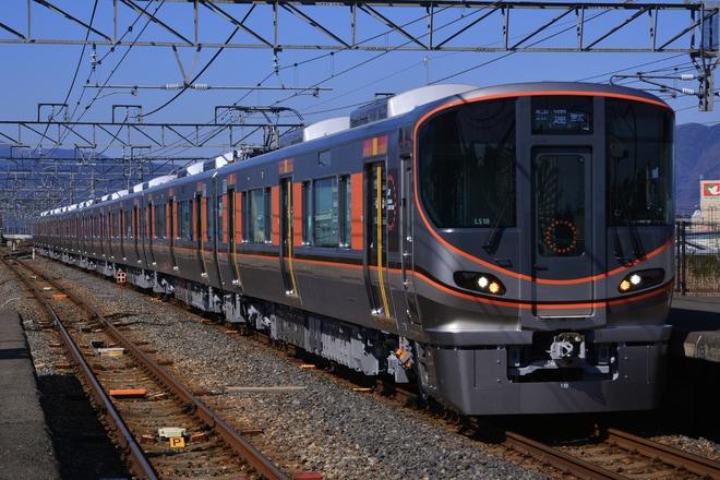 【JR西】323系LS18編成が湖西線で試運転