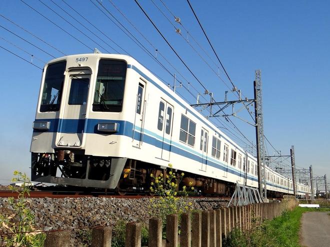 【東武】8000系8197F南栗橋入場回送
